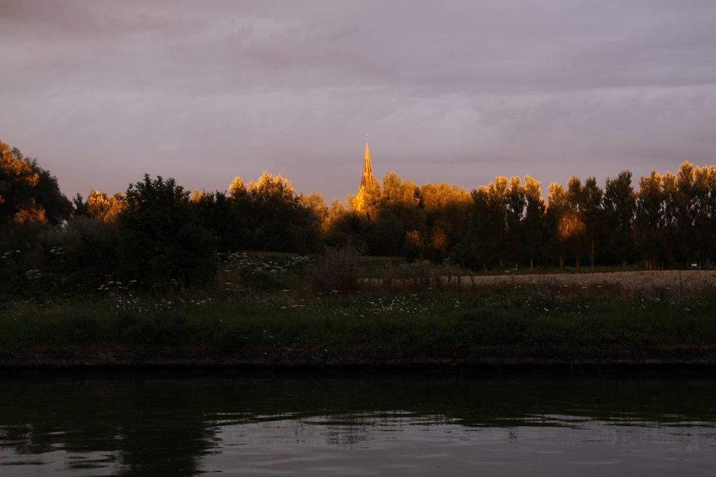 Abendstimmung am Canal du Nord