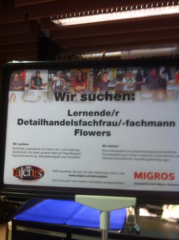Die deutsche Sprache hat in der Schweiz aufgehört, zu existieren