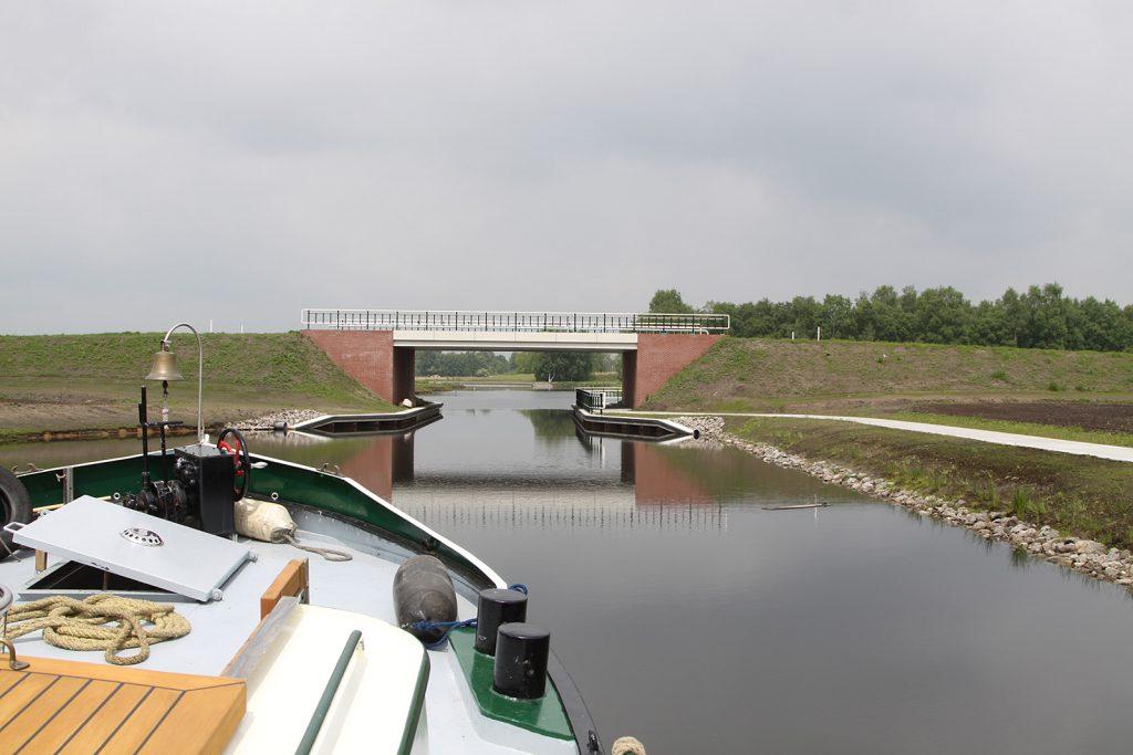 Eine neu erstellte Brücke