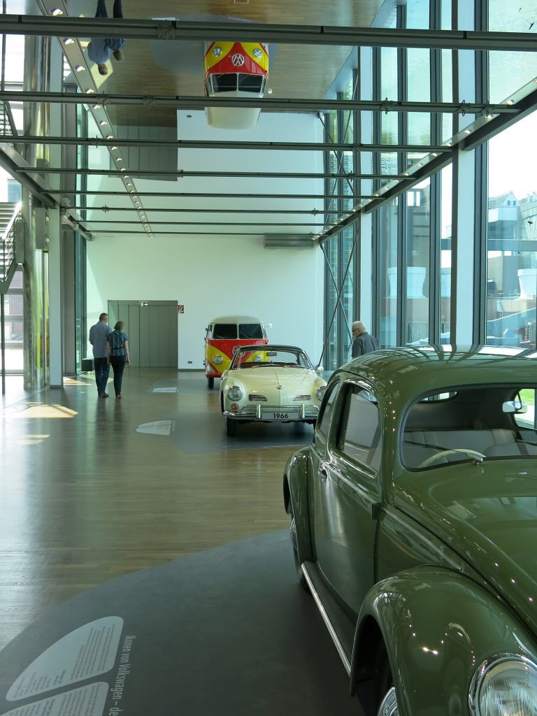 Ausstellungsgebäude in der «Autostadt Wolfsburg»