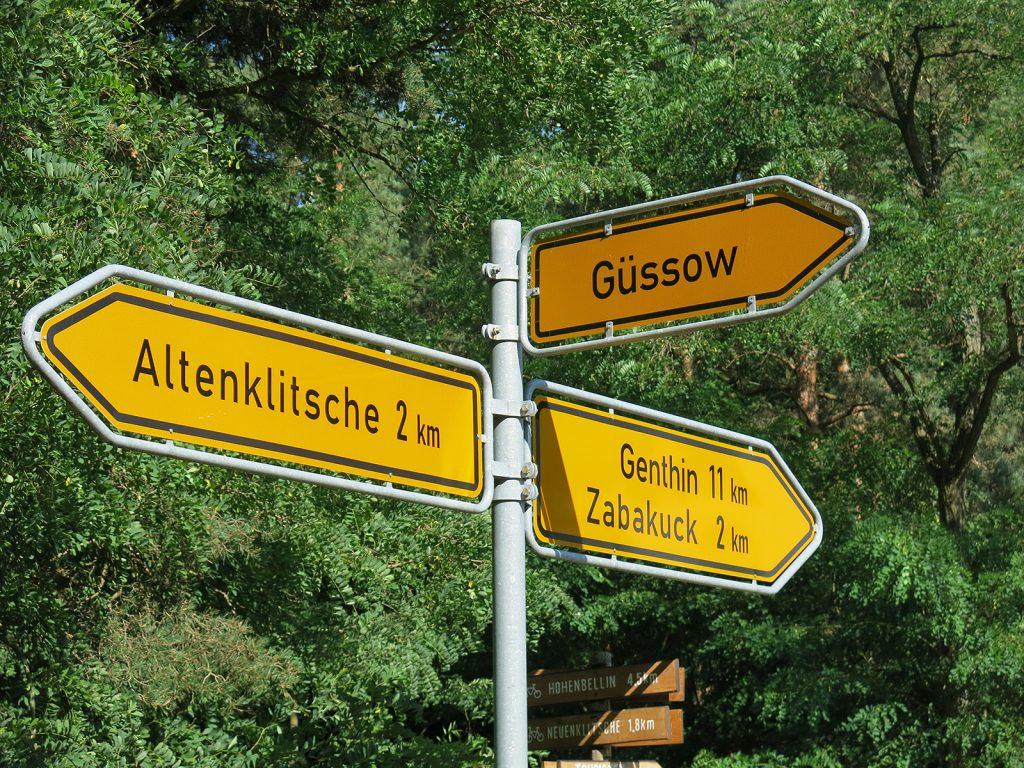 Von Zabakuck nach Altenklitsche