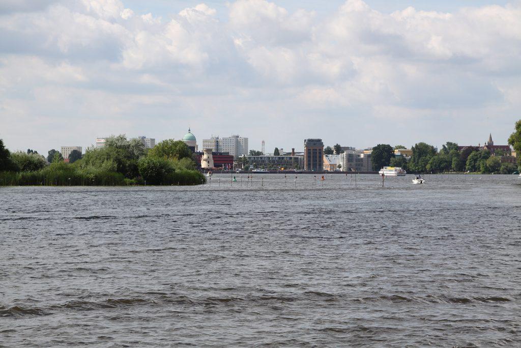 Potsdam vom Wasser aus gesehen