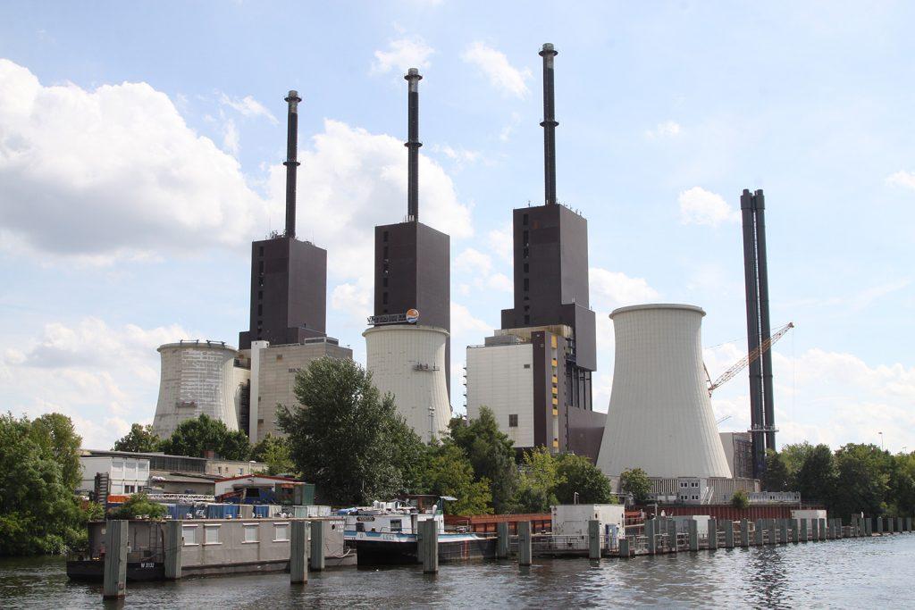 Kohle-Kraftwerk am Teltowkanal