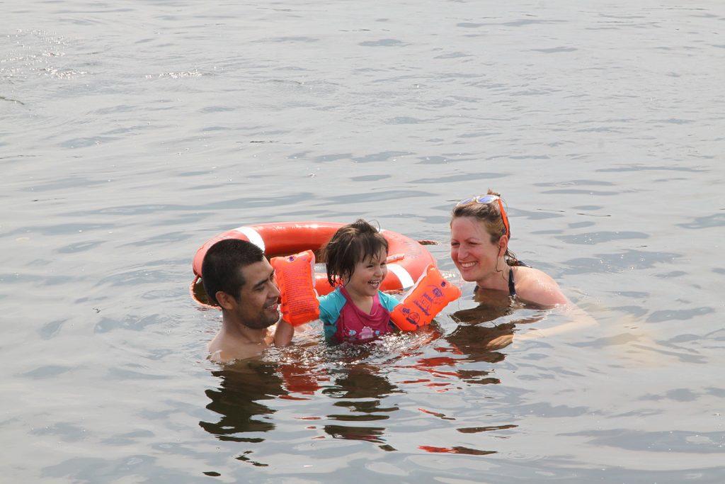 Sommerfreuden bei 28 Grad Wassertemperatur
