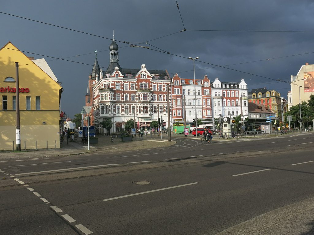 Häuserzeile in Köpenick