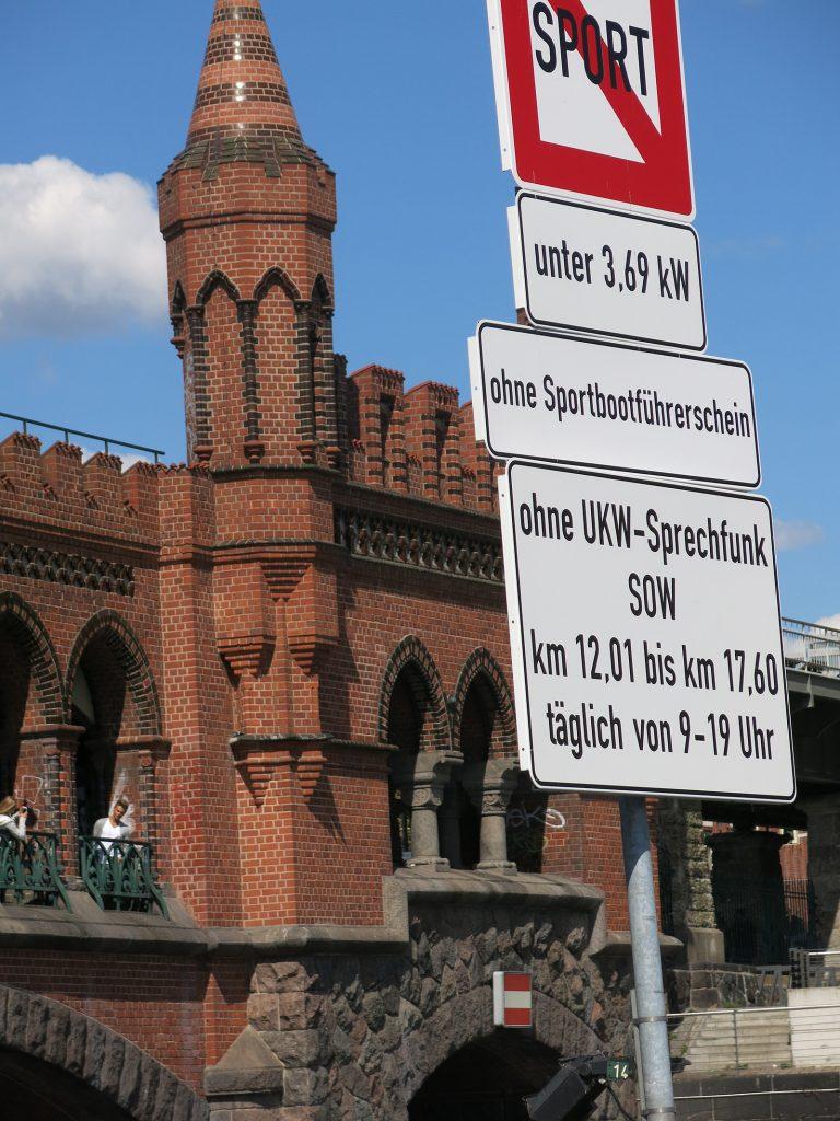 Restriktionen für die Fahrt durch Berlin