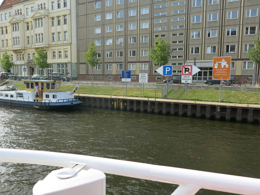 24-Stunden Liegeplatz für Sportboote im Regierungsviertel