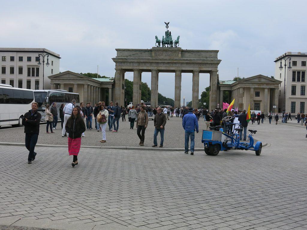 Die Quadriga auf dem Brandenburger Tor – Übername «Retourkutsche»