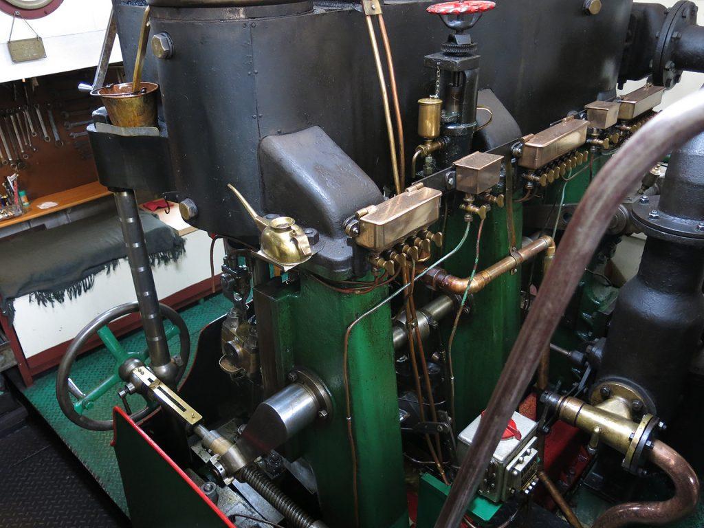 Im Maschinenraum der «Gustav»