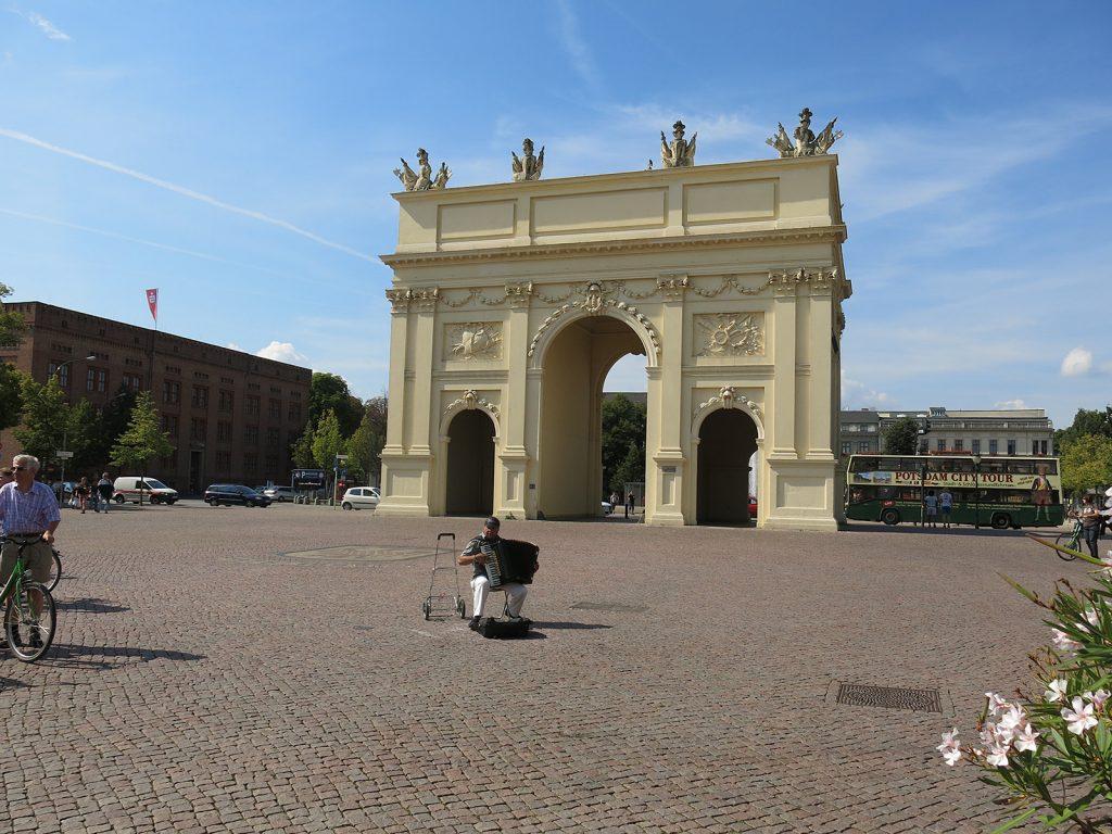 Auch Potsdam hat ein Brandenburger Tor