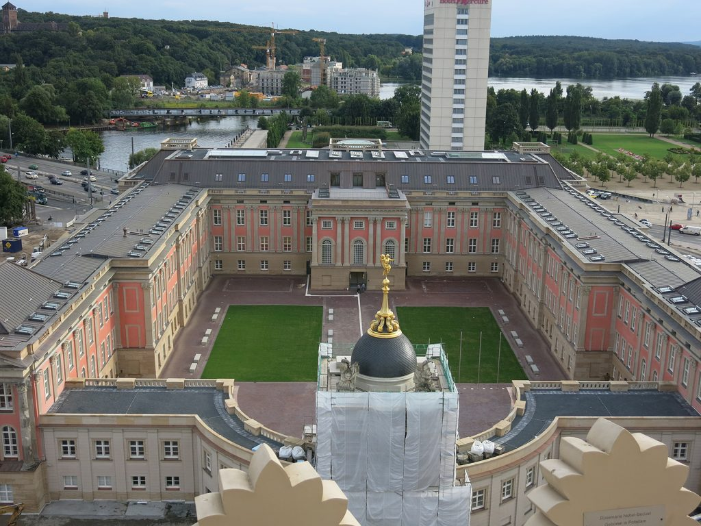 Das wiederaufgebaute Stadtschloss