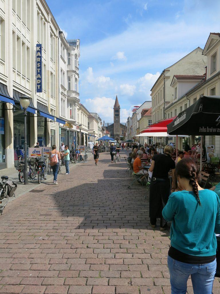 Die Brandenburger Strasse – Brandenburgs «Broadway»