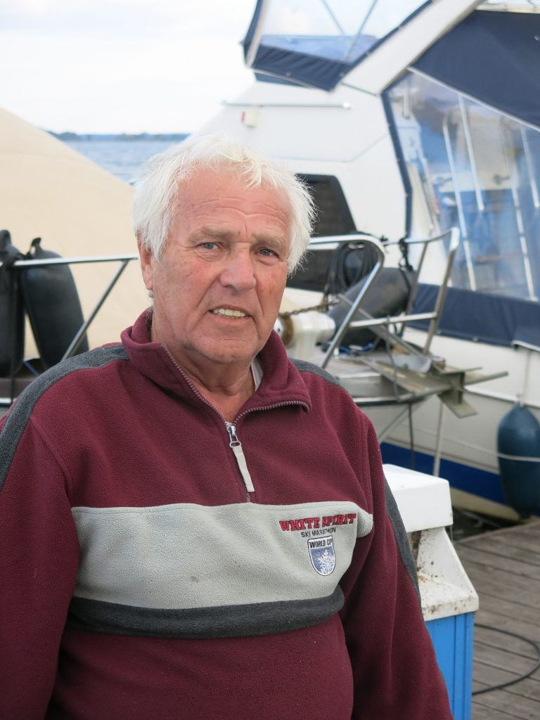 Hafenmeister Hans vom Eisenbahner-Segelverein Kirchmöser