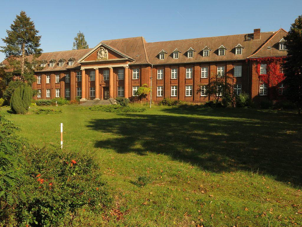 Das Verwaltungsgebäude der ehemaligen Preußischen Pulverfabrik Kirchmöser