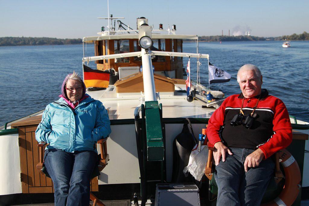 Ein Ausflug mit Erich und Paula