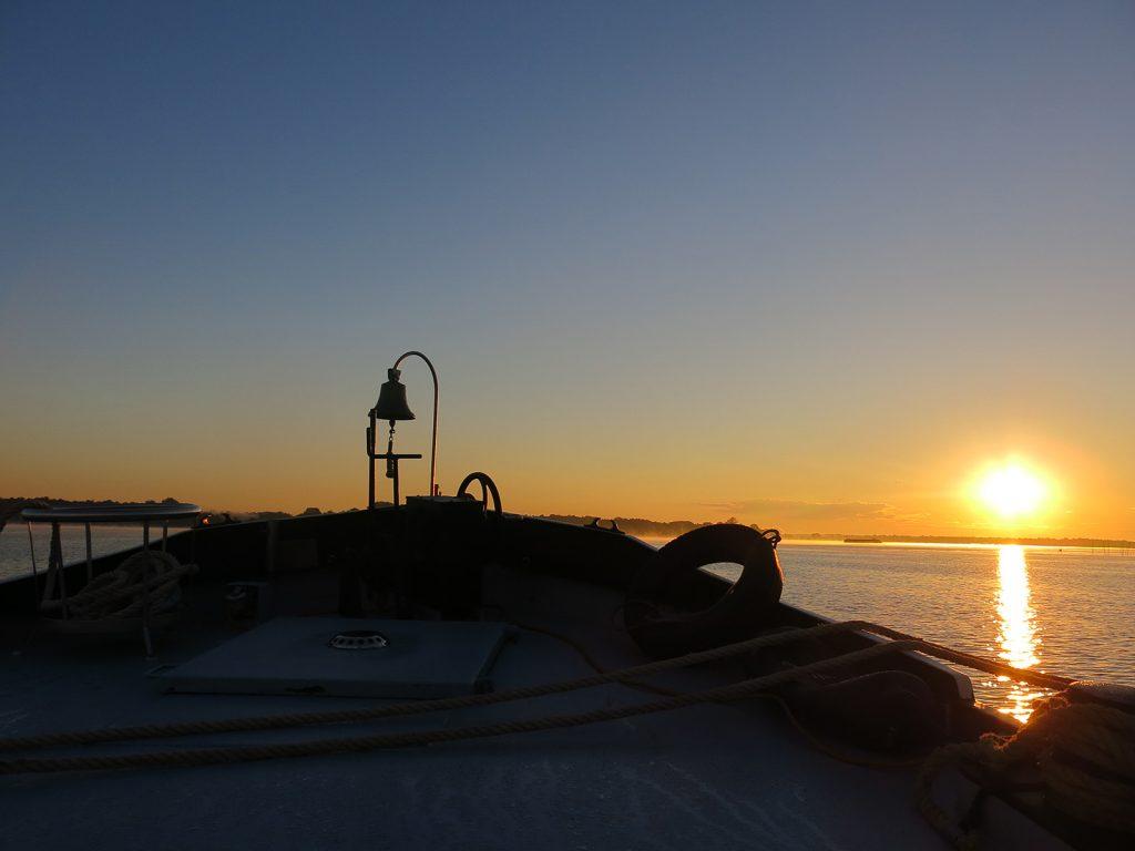 Sonnenaufgang in Kirchmöser