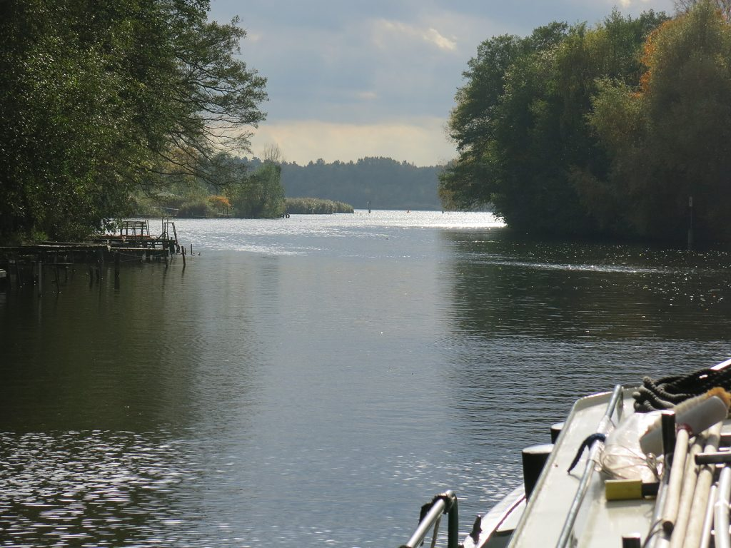 Zwischen zwei Seen