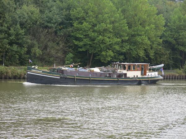 Die «MS IJsselstroom» auf der Rückfahrt nach Utrecht