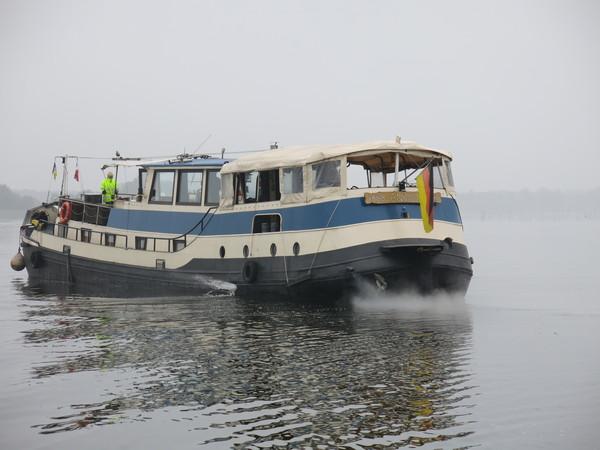 Das «Geisterschiff» verschwindet wieder im Nebel