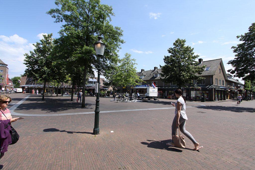 Der Marktplatz von Huizen