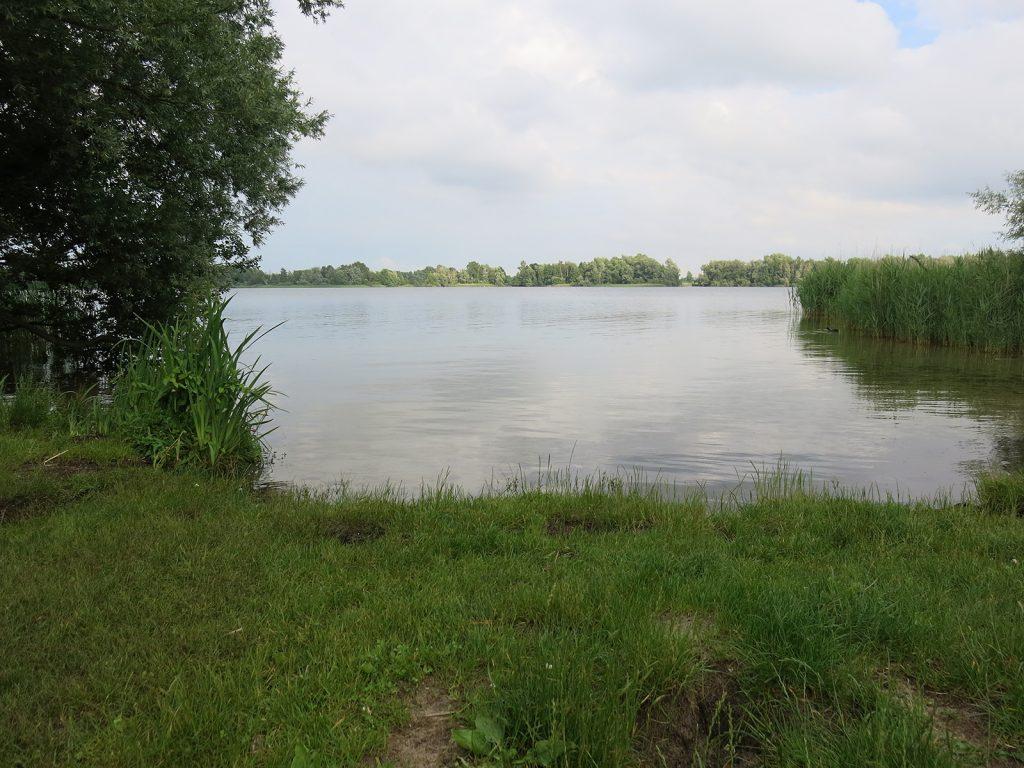 Ein kleiner Moorsee, der Spiegelplas