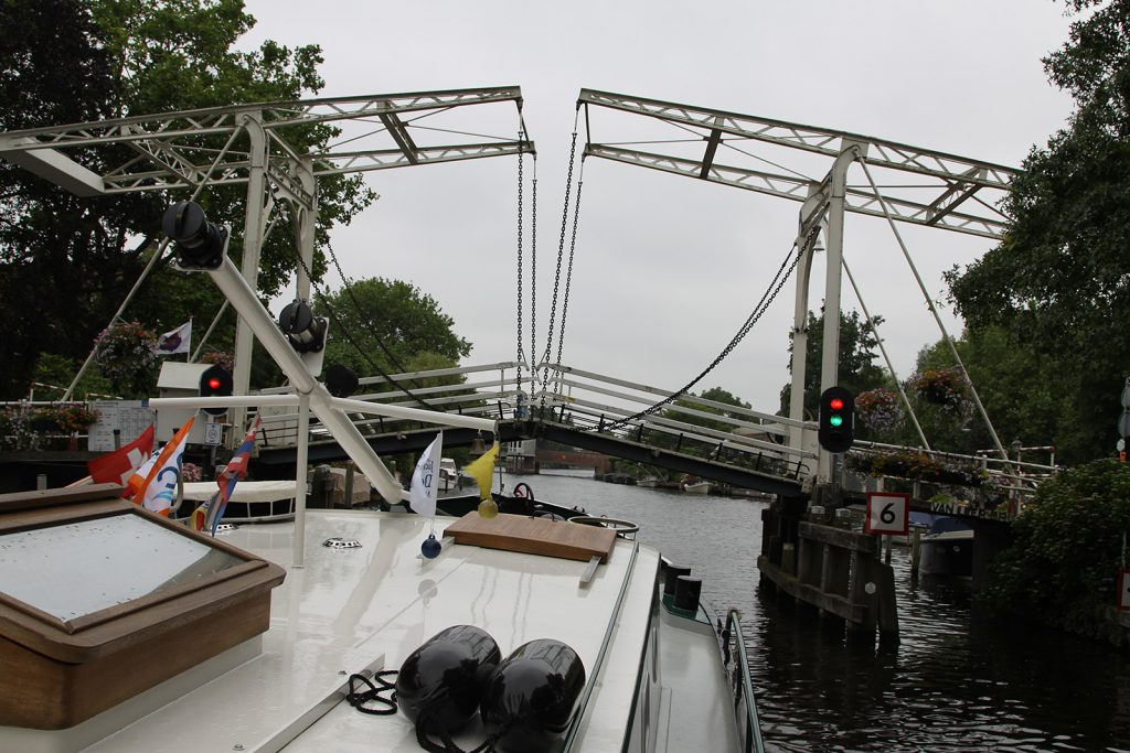 Die Dorfbrücke von Loenen
