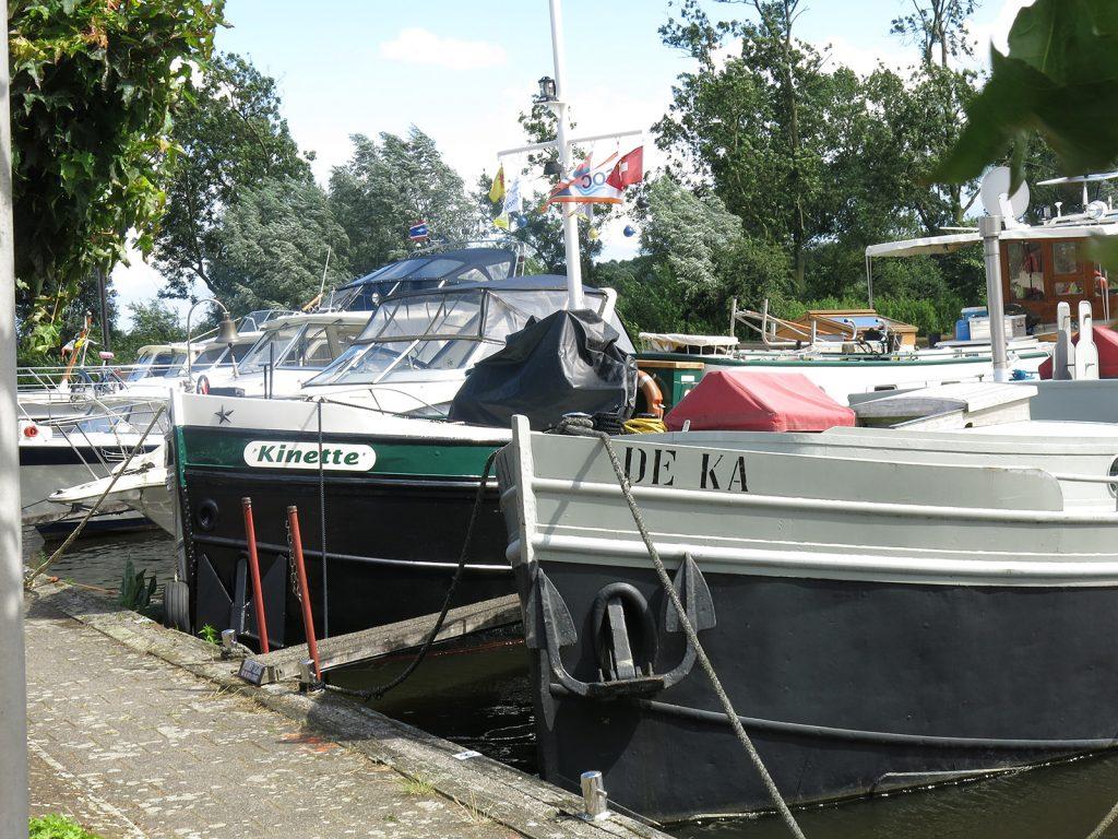 Im Gemeindehafen von Meerkerk