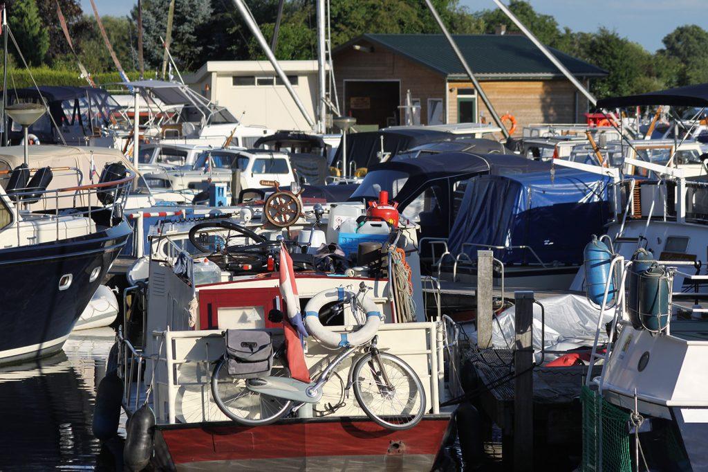 Yachthafen in der Hochsaison