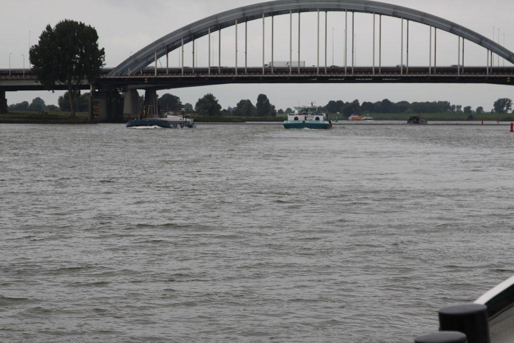 Auf dem Lek nach Dordrecht