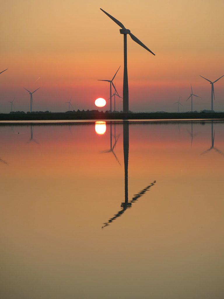 Sonnenaufgang über dem Eemmeer