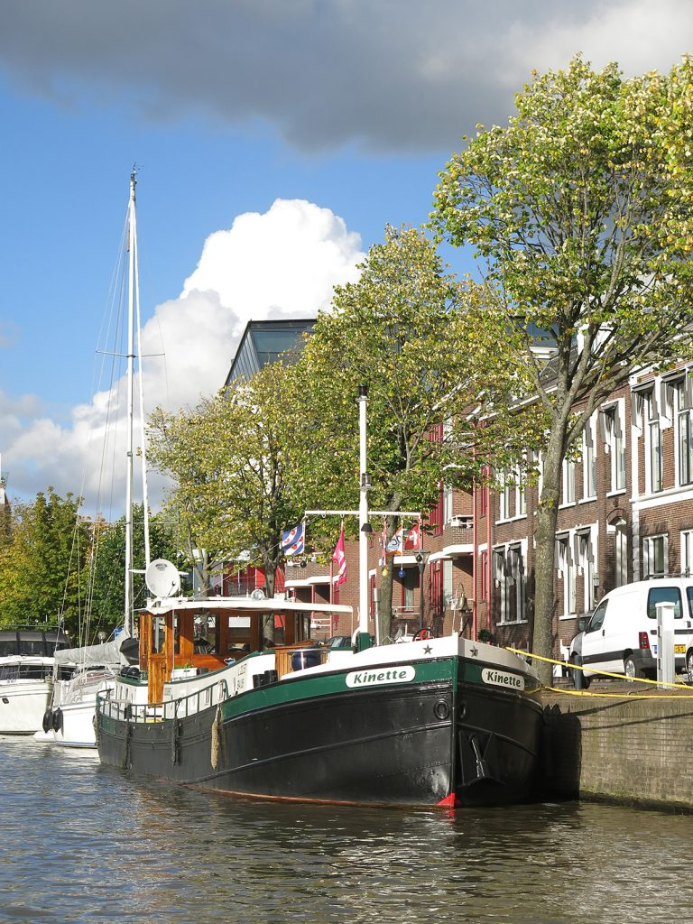 An der Westerkade in Harlingen