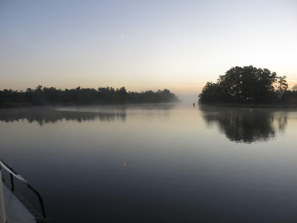 Morgenstimmung im Nationalpark Âlde Feanen