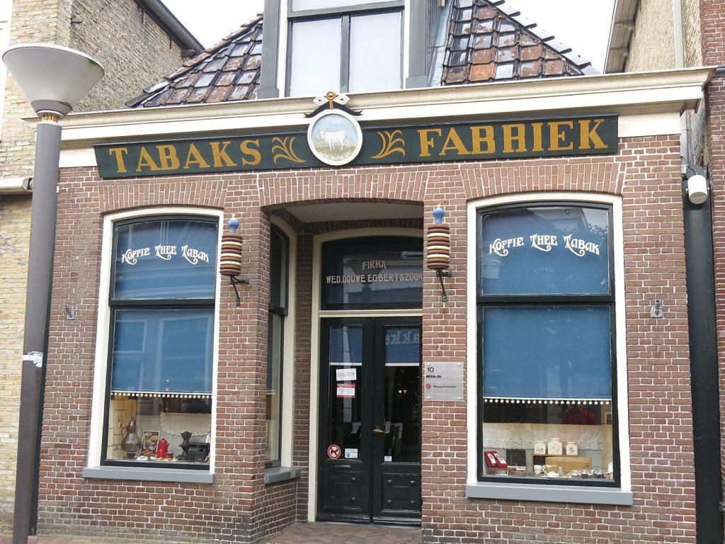 Das Stammhaus des Kaffee-, Tee- und Tabakkonzerns Douwe Egberts