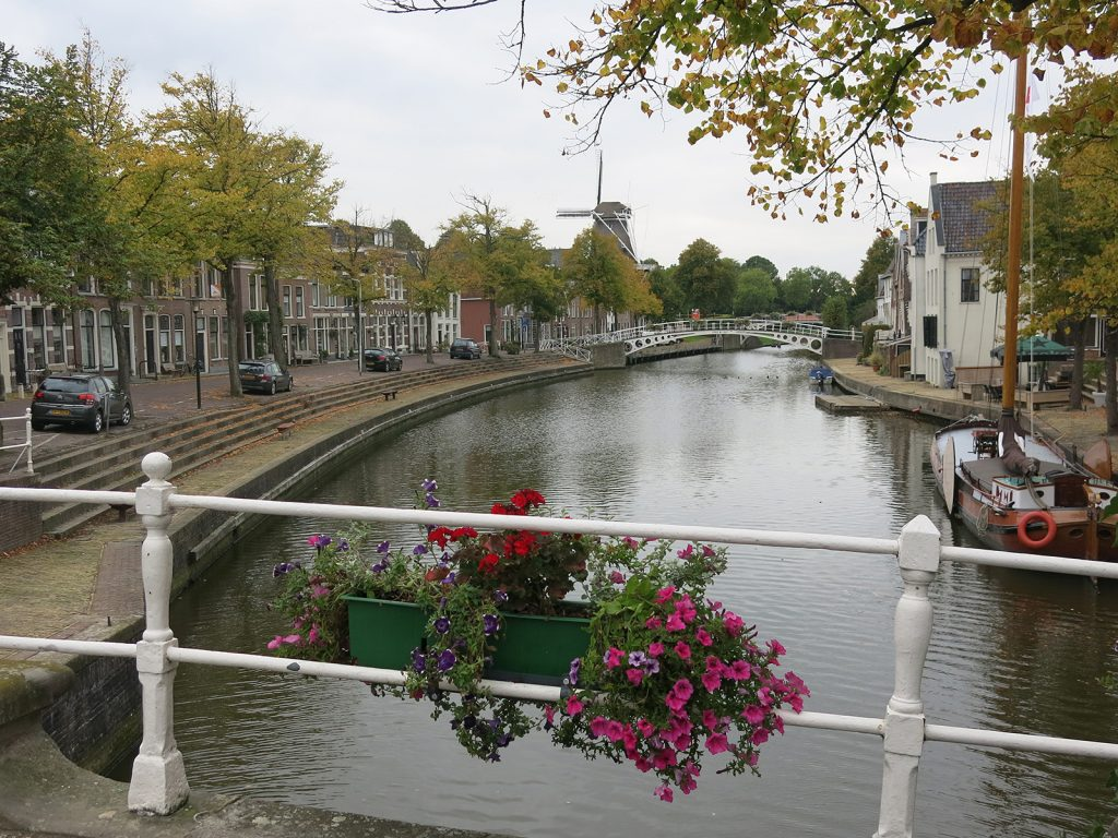 Gracht in Dokkum