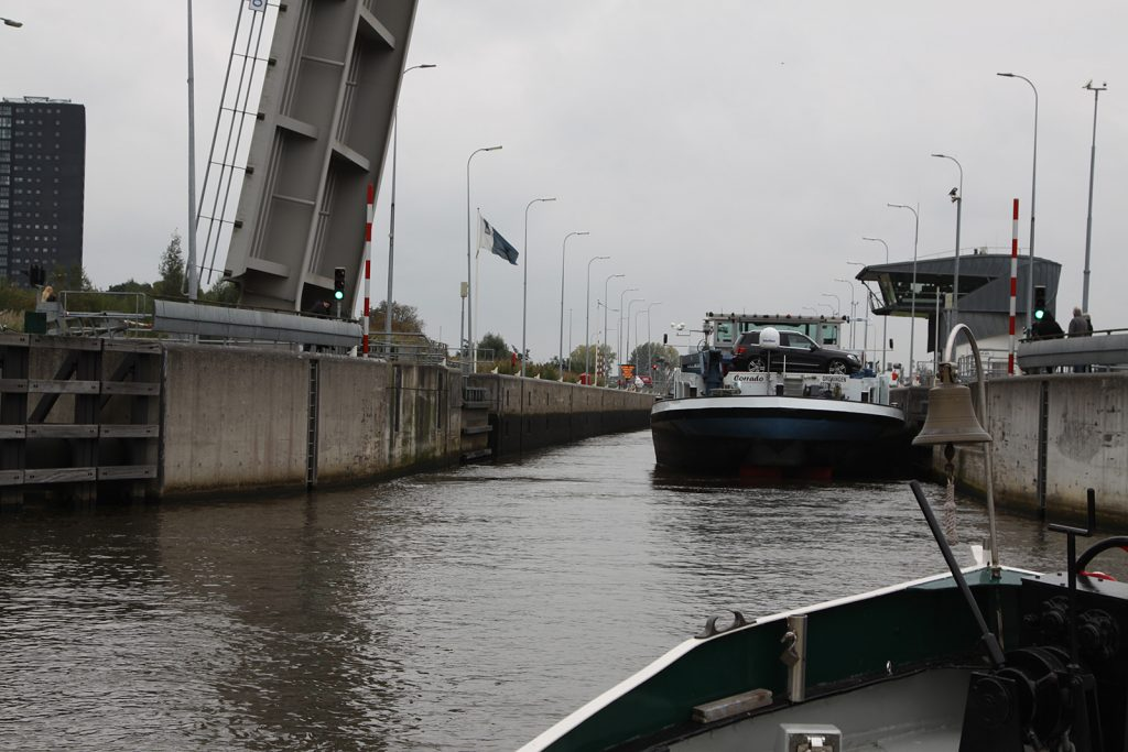 Die Oosterschleuse in Groningen
