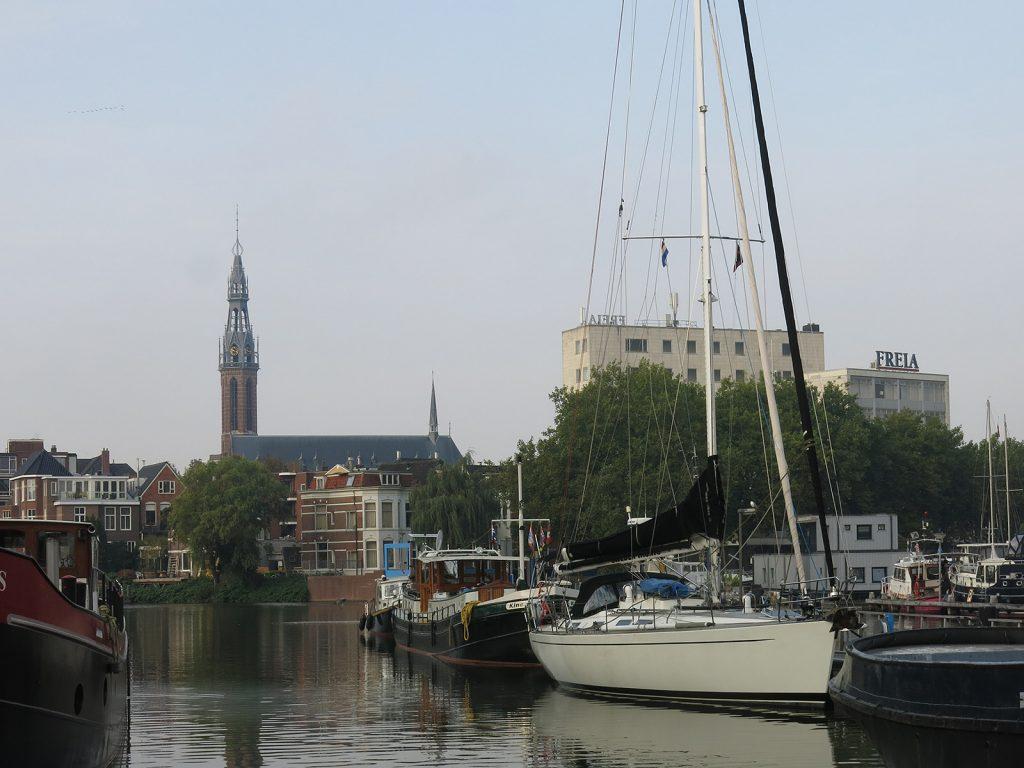 Im Oosterhafen Groningen