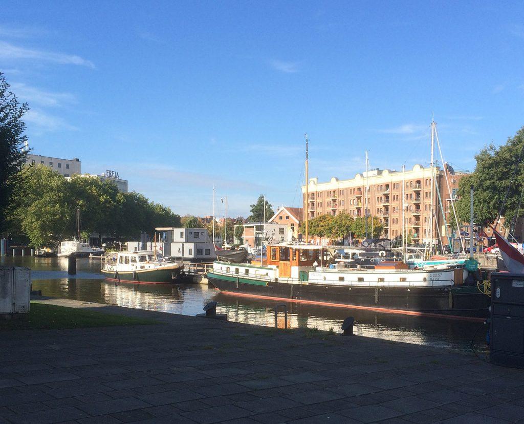 Mit der «BERYL» im Oosterhafen (Foto Marcel Odermatt)