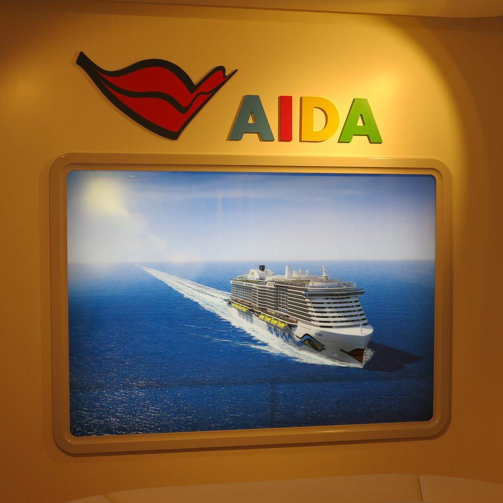 Von der Meyer Werft gebaut: Ein AIDA Schiff
