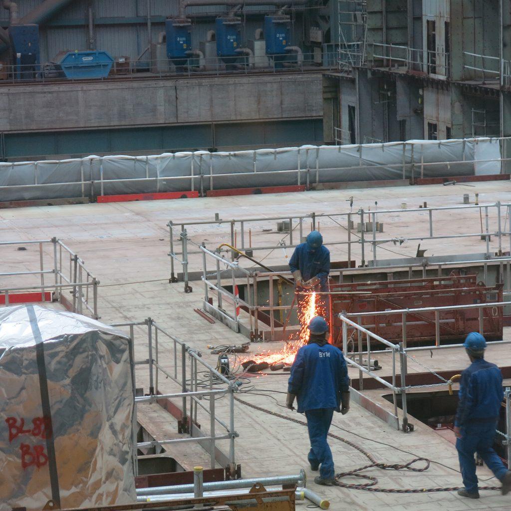 Auf der Meyer Werft