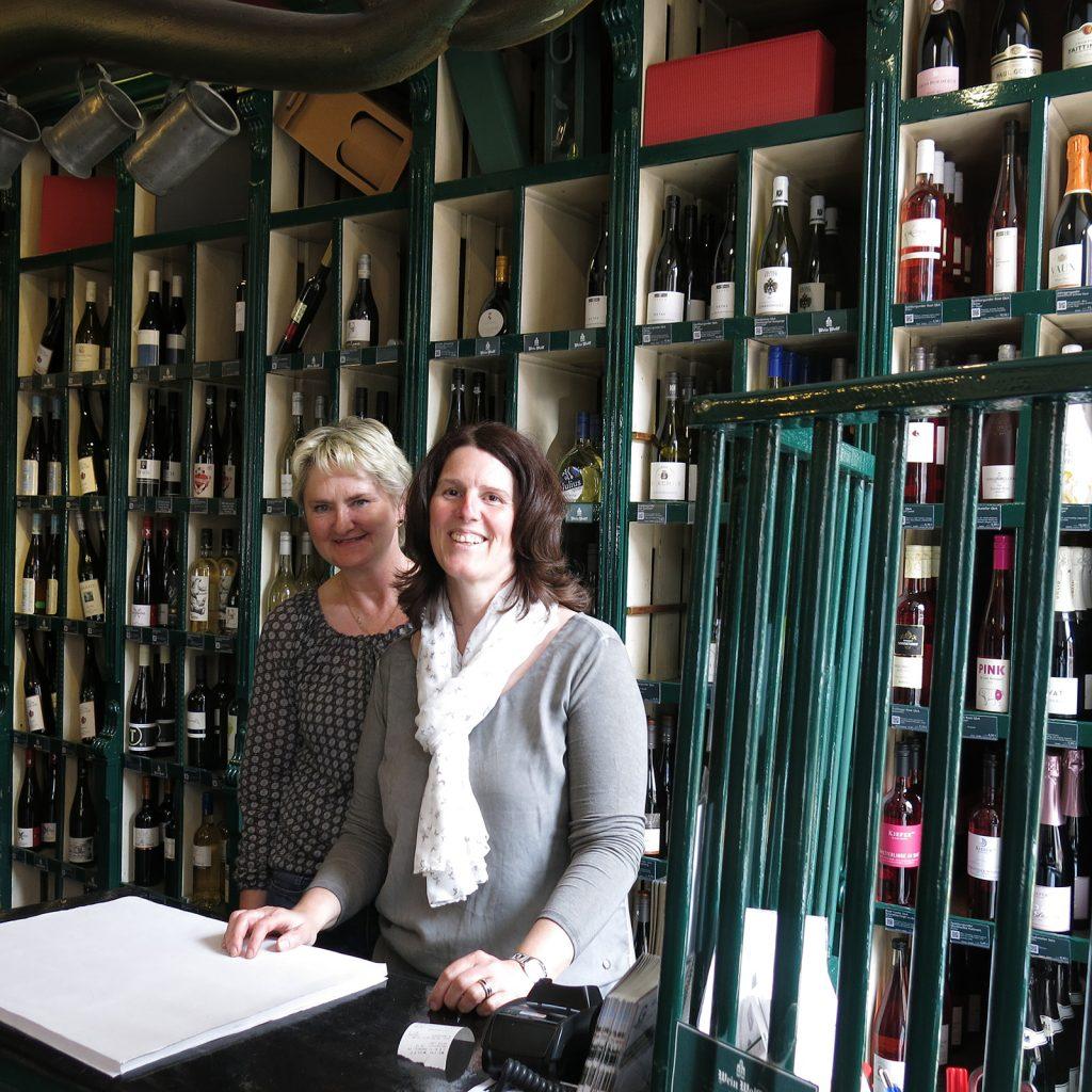 Im Weinhandelshaus Wolff