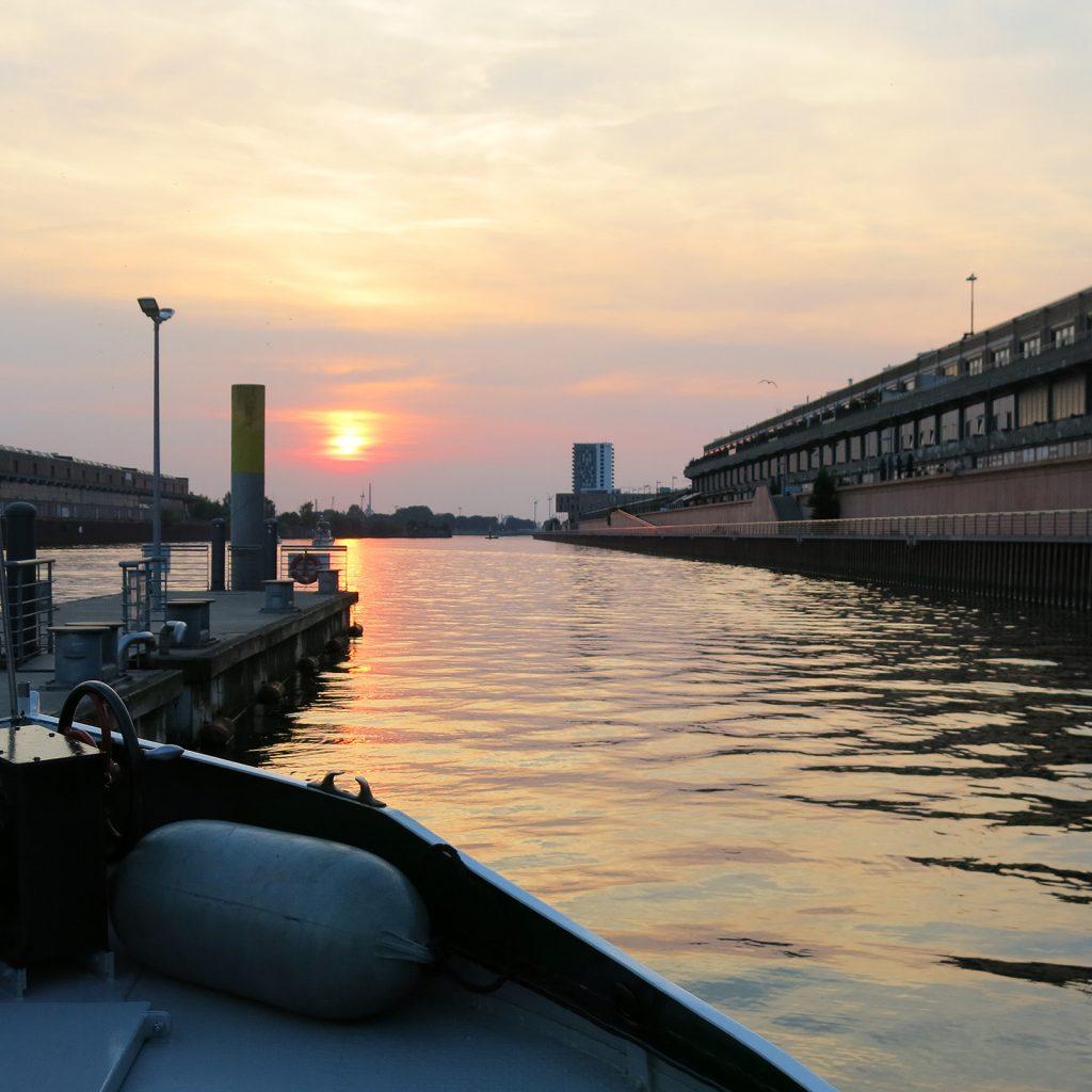 Abendstimmung im Europahafen