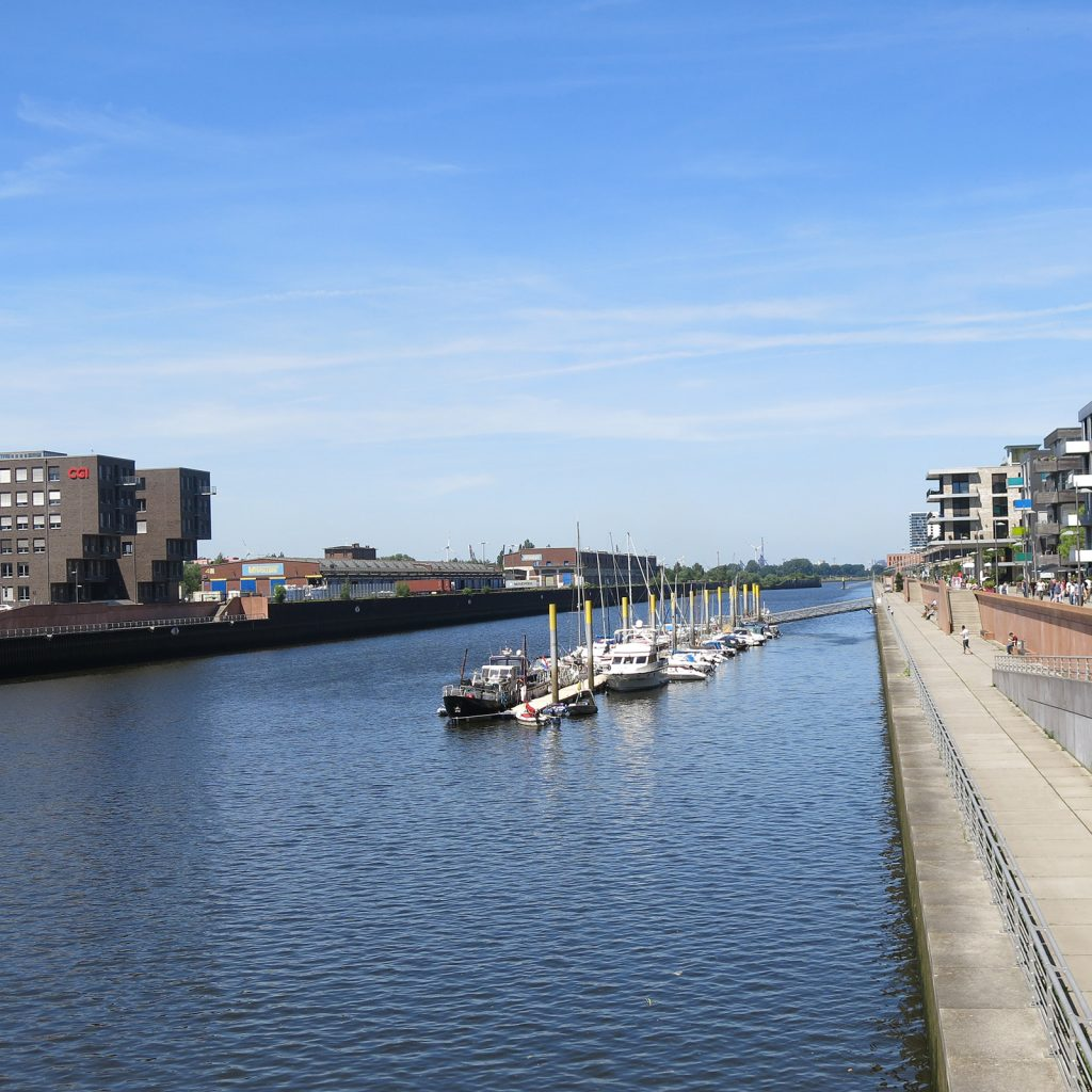 Die Marina im Europahafen