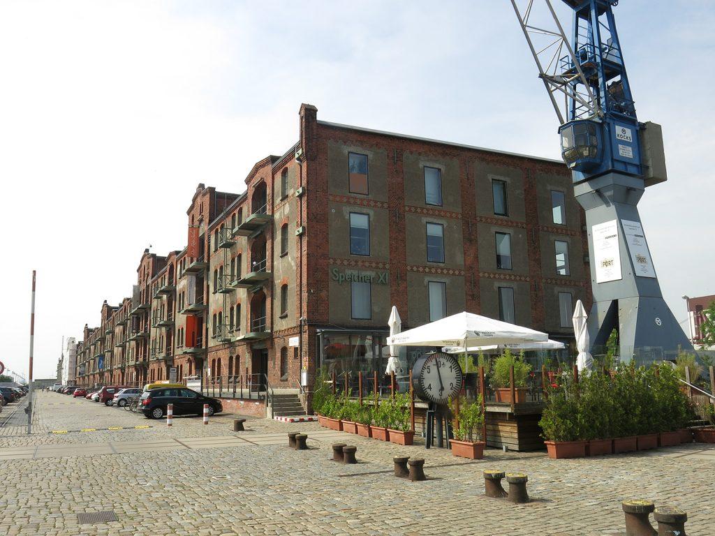 Historische Industriegebäude