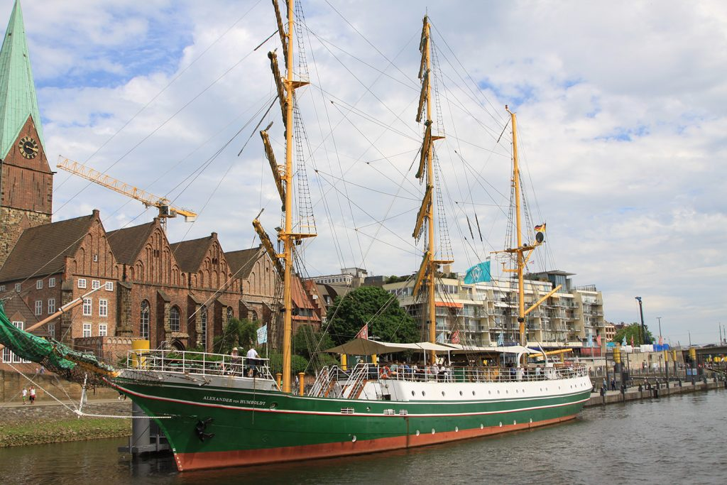 Die Schlachte mit der «Alexander von Humboldt»