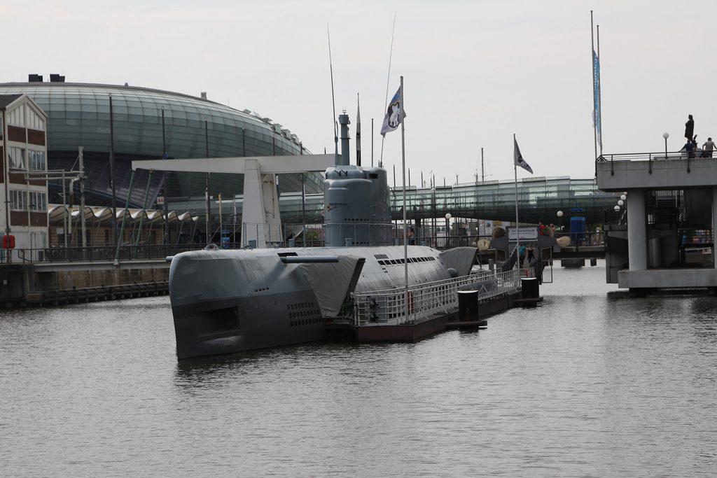 Die «Wilhelm Bauer» im Museumshafen in in Bremerhaven