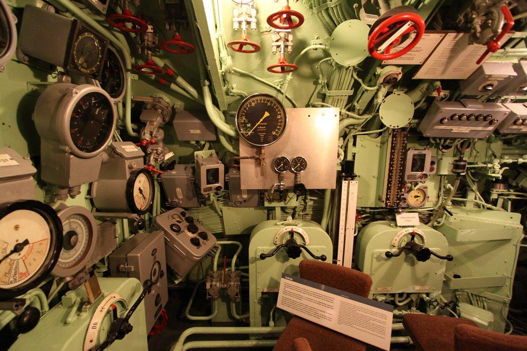 Im U-Boot «Wilhelm Bauer»