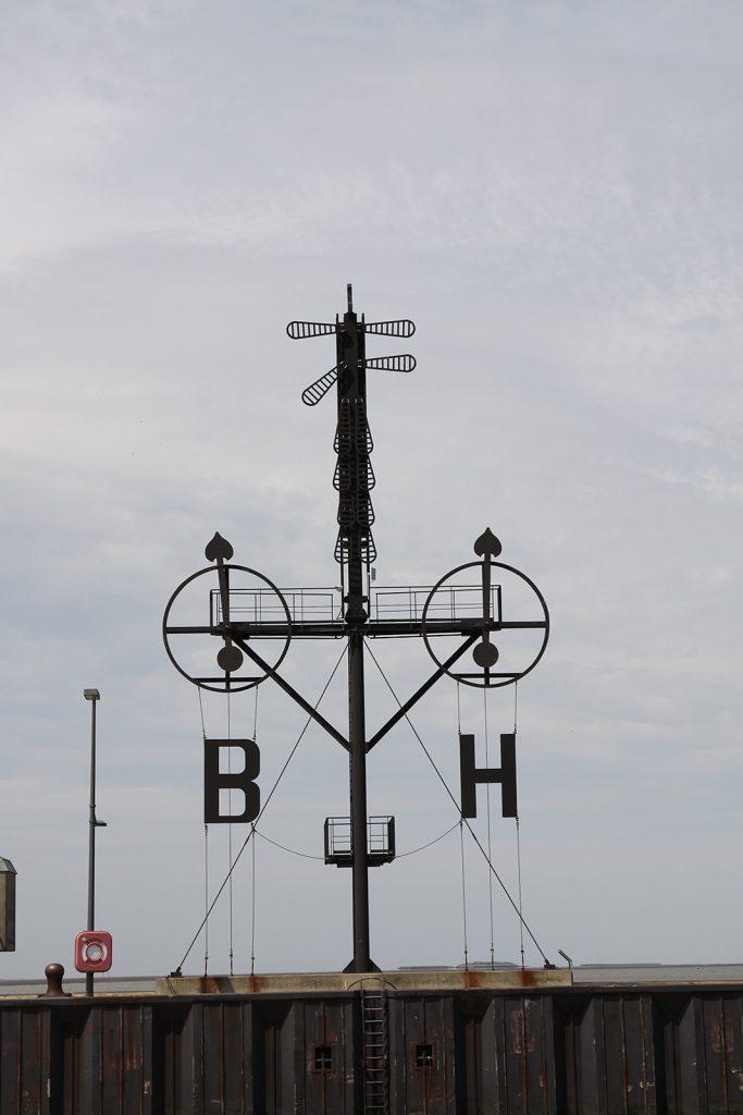 Der Semaphor in Bremerhaven