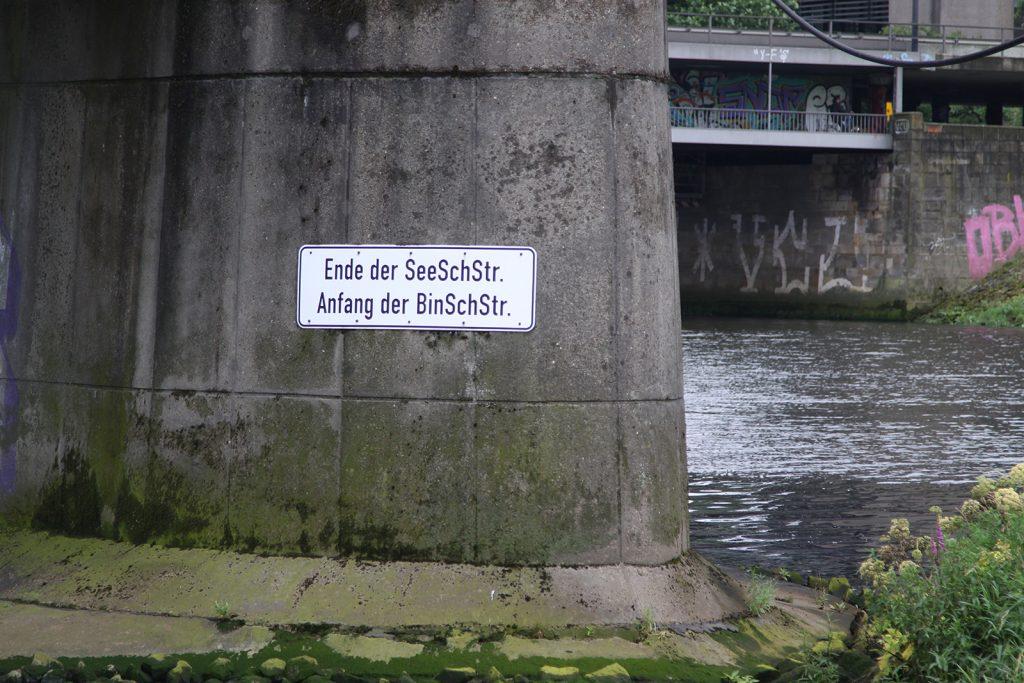 Grenze zwischen Seeschifffahrts- und Binnenschifffahrtstrasse