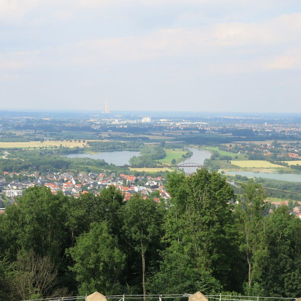 Aussicht vom Kaiser-Wilhelm-Denkmal aus