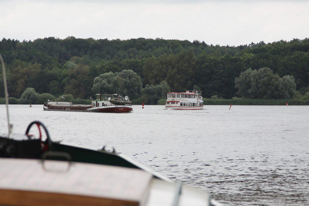 Vom Elbe-Seitenkanal auf die Elbe hinaus